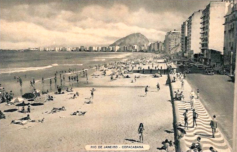Copacabana beach 1940s