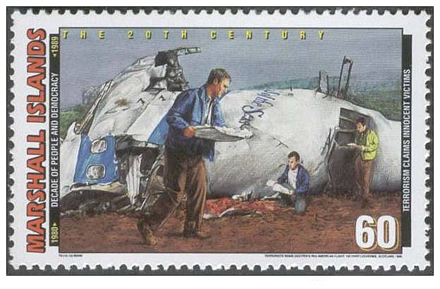 Marshall Islands stamp issued January 15, 2000