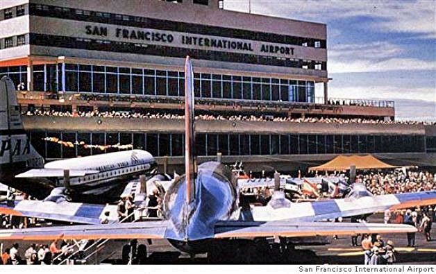San Francisco Airport in the 1950s