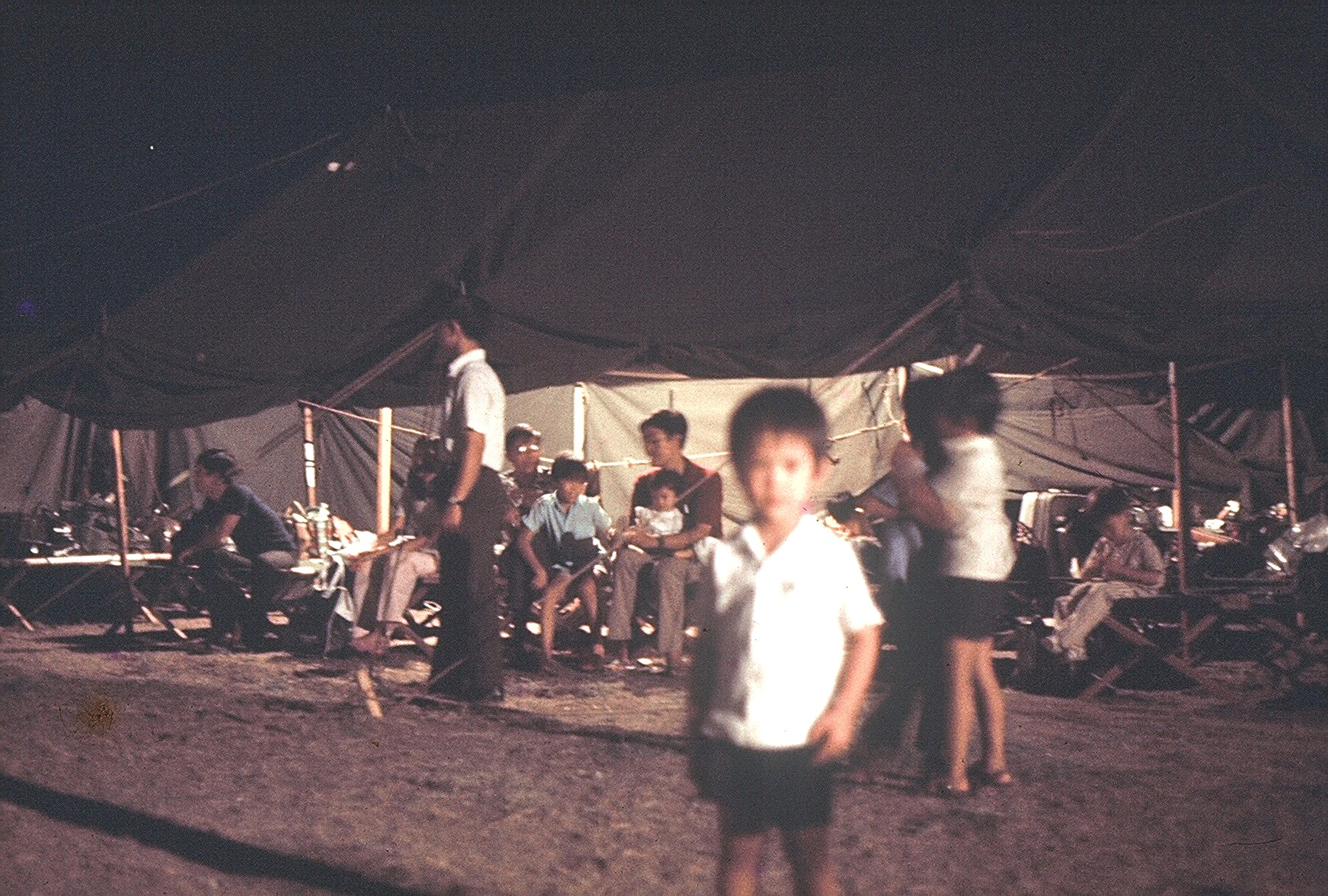 Clark Air Base, Philippines, tents #1 copy
