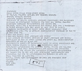 Telegram from President Gerald Ford