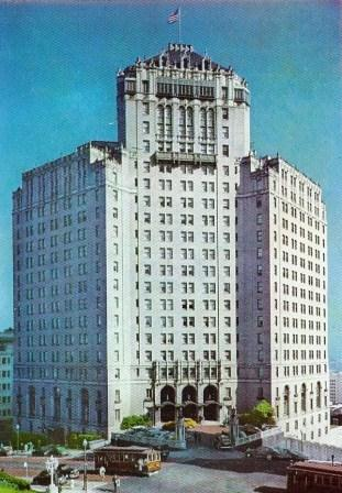 The Mark Hopkins Hotel, San Francisco, California, USA. Reprinted with permission of the Neal Prince Trust.