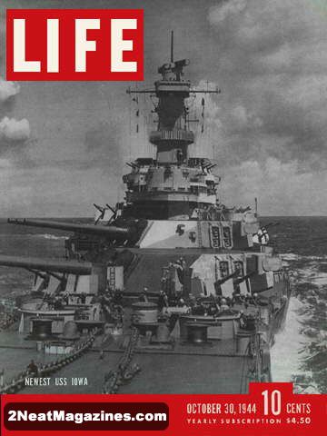 Cover of Life Magazine October 30, 1944