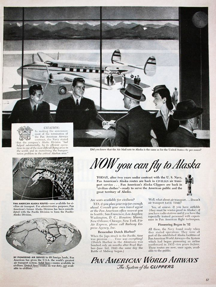 Pan Am Alaska Ad