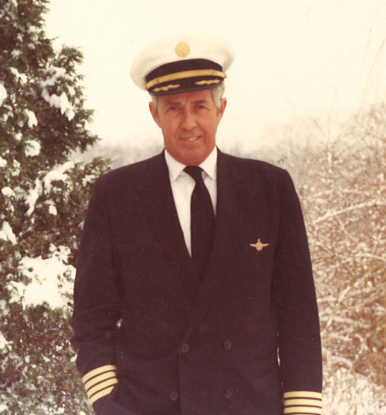 "Captain ""Chuck"" Smith circa 1960-1970. Image courtesy of Madeline Smith to Clipper Crew."