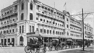 Grand Hotel Calcutta. Image courtesy of http://oldkolkata.blogspot.com